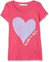 Desigual Toddler Girls' Ts_Chivite T-Shirt, Fuchsia Rose