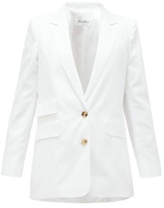 Max Mara Ronchi Jacket - White