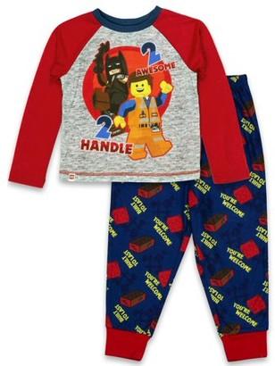 The Lego Movie Lego Movie Toddler Boy Long Sleeve Shirt & Pants Poly Pajamas, 2pc Set
