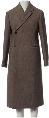 Jil Sander Brown Cotton Coat for Women