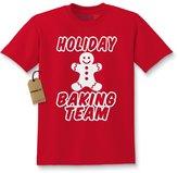 Expression Tees Kids Holiday Baking Team T-Shirt
