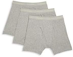 Calvin Klein Underwear Men's 3-Pack Cotton Boxer Briefs