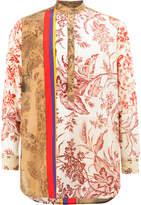 Pierre Louis Mascia Pierre-Louis Mascia printed henley shirt
