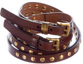 Burberry Studded Leather Belt