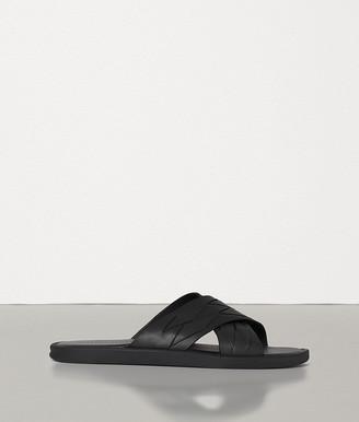 Bottega Veneta Sandals In Intrecciato Calf