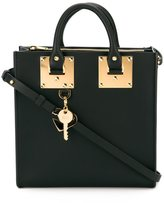 Sophie Hulme small 'Albion' square tote - women - Leather - One Size