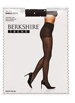 Berkshire Women's Trend Two Tone Sheer Dots Control Top Pantyhose