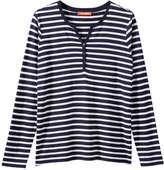 Joe Fresh Women's Stripe Pattern Tee, Navy (Size M)