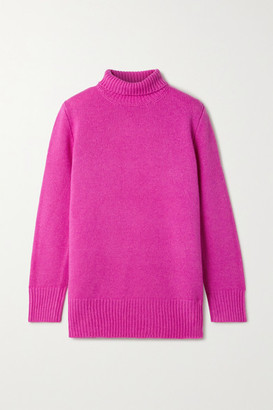 The Row Sadel Cashmere Turtleneck Sweater - Fuchsia