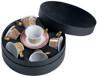 Versace Le Jardin Set Of 6 Tea Cups