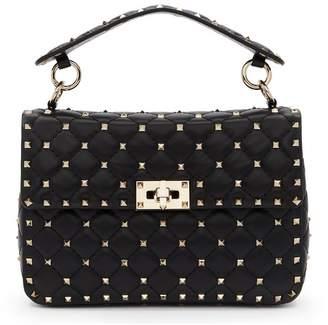 Valentino Black Garavani Medium Rockstud Spike Bag