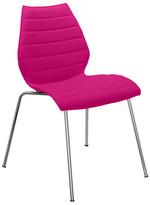 Kartell Maui Soft Chair - Kvadrat Divina 3 Fabric - Fuchsia
