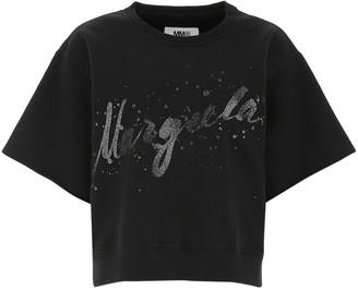 MM6 MAISON MARGIELA Glittered Print T-Shirt