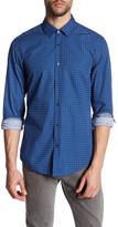 HUGO BOSS Ronny Slim Fit Print Shirt