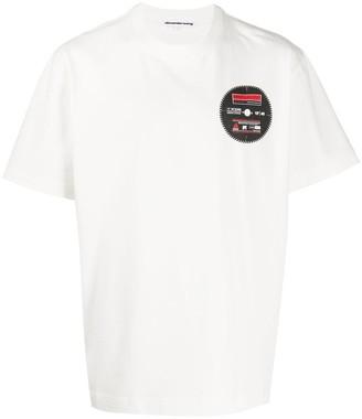 Alexander Wang logo patch T-shirt