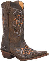 "Rocky Women's 12"" HandHewn Western 5234 - Graphite Lava Full Grain Leather Boots"