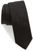 BOSS Men's Woven Silk Skinny Tie