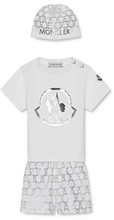 Moncler Boys' Bonnet, T-Shirt & Shorts Box Set - Baby, Little Kid