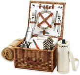 Picnic at Ascot Cheshire Picnic Basket For 2 with Blanket and Coffee Cups