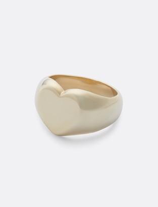 Draper James Heart Signet Ring