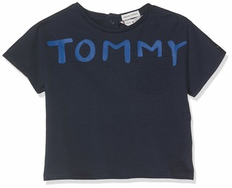 Tommy Hilfiger Baby Girls' Bold Text Grown On S/s Tee T-Shirt