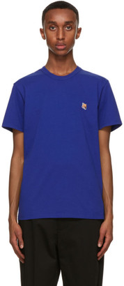 MAISON KITSUNÉ Blue Fox Head T-Shirt