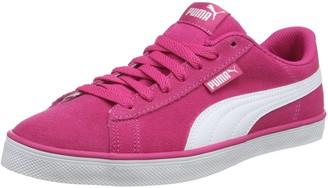 Puma Unisex Kid's Urban Plus SD Jr Low-Top Sneakers Black Black White 5.5 UK