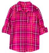 Crazy 8 Sparkle Plaid Shirt