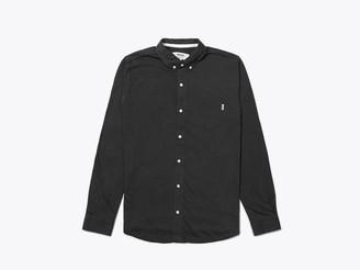 Wemoto Shirt Shaw Mel Black Melange - S