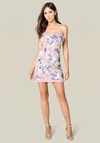 Bebe Leila Sequin Slip Dress