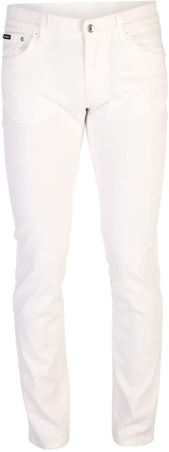 Dolce & Gabbana White Trousers
