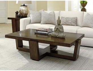 Lexington Laurel Canyon Solid Wood Sled Coffee Table