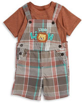 Nannette Baby Boys Infants Two Piece Overalls Short Set