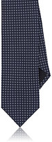 Barneys New York MEN'S SQUARE NEAT SILK FAILLE NECKTIE