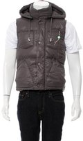 Galliano Quilted Down Vest w/ Tags