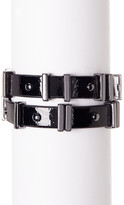 French Connection Riveted Faux Leather Bracelet