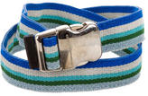 Proenza Schouler Striped Waist Belt