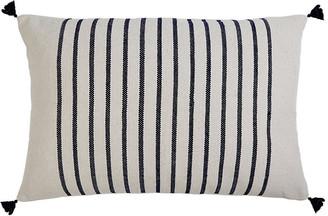 Pom Pom at Home Morrison 28x36 Lumbar Pillow - Navy Stripe