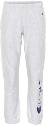 Champion Cotton-blend trackpants