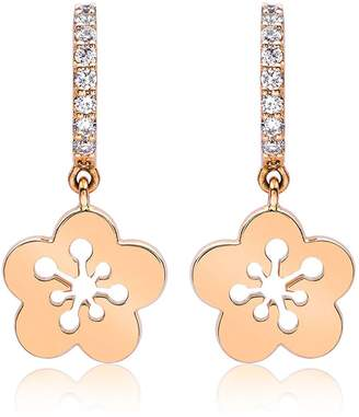 Boodles Mini Blossom Drop Earrings