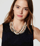LOFT Pearlized Braided Necklace