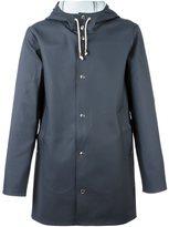 Stutterheim 'Stockholm' raincoat - unisex - Cotton/Polyester/PVC - L