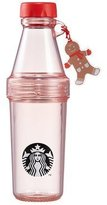 Starbucks Christmas 2016 Pheobe Red Ginger Charm Love Holiday Celebration Water Bottle Boys Girls Couple Clear Coffee Cup Tumbler Limited Edition New Collectible Gift Korea 20oz, 591 ml (Ginger Charm)