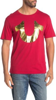 True Religion Short Sleeve Gold Horseshoe T-Shirt