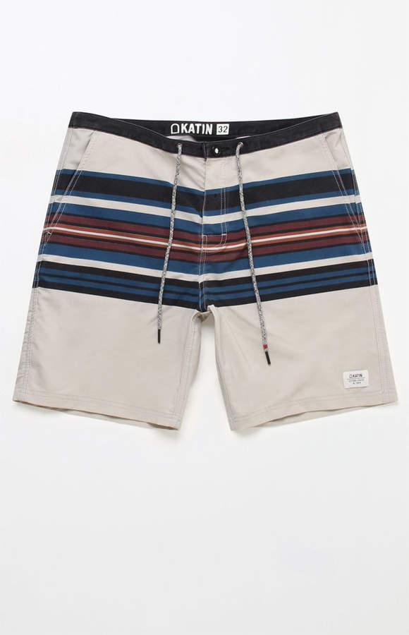 """Katin Finn Stripe 19"""" Boardshorts"""