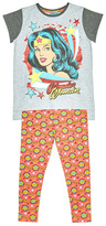 Tu clothing Grey Wonder Woman Pyjama Set
