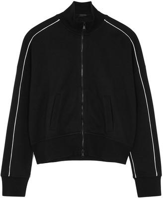 ATM Anthony Thomas Melillo Black Cotton-blend Track Jacket