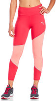 Puma Three-Quarter Mesh Clash Tights