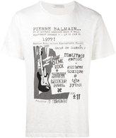 Pierre Balmain rock concert print T-shirt