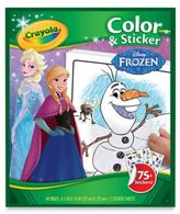 "Crayola Disney® ""Frozen"" Color & Sticker Book"